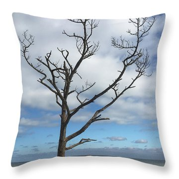 Talbot Stilt Tree #1 Throw Pillow