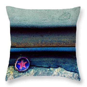 Tales Along The Tracks Throw Pillow