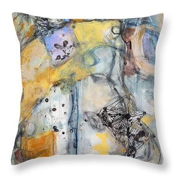 Tales Of Intrigue Throw Pillow
