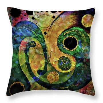 Tales Of The Past  Throw Pillow