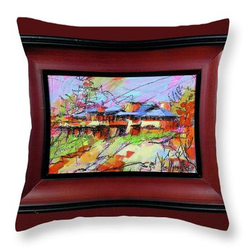 Taliesin Throw Pillow