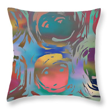 Talking Heads  Throw Pillow