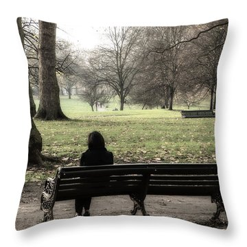 Talking To The Ents Throw Pillow