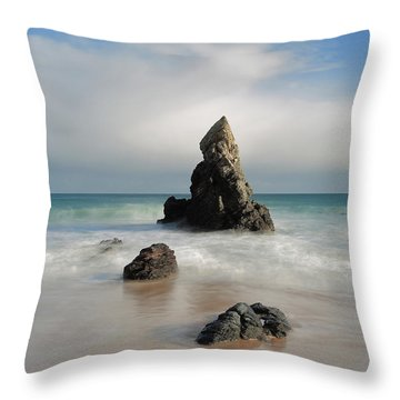 Tall And Proud On Sango Bay Throw Pillow