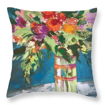 Tall Drink Of Water Throw Pillow
