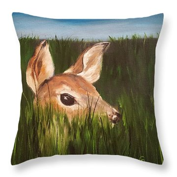 Tall Grass    #63 Throw Pillow