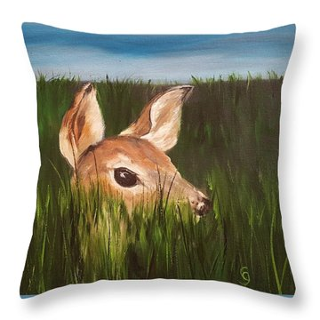 Tall Grass    #63 Throw Pillow