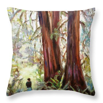 Tall Prayers Throw Pillow