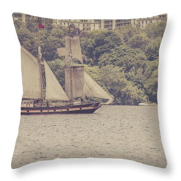 Tall Ship - 2 Throw Pillow