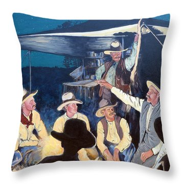 Tall Tale Throw Pillow