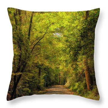 Tallulah Trail Throw Pillow