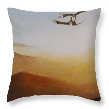 Talon Lock Throw Pillow