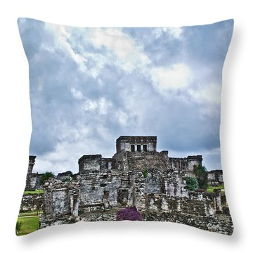 Talum Ruins 8 Throw Pillow