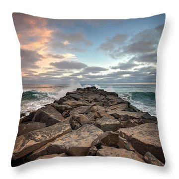 Tamarack Jetty Throw Pillow