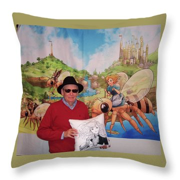 Tammy And Reynold Jay Throw Pillow