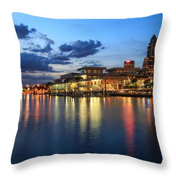 Tampa Convention Center Throw Pillow