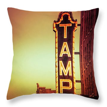 Tampa Theatre Throw Pillow