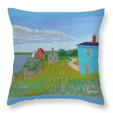 Tancook Throw Pillow