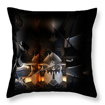 Throw Pillow featuring the digital art Tangier by Vadim Epstein