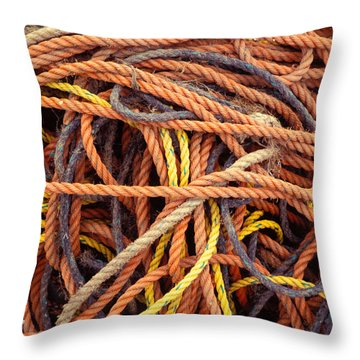 Tangle Throw Pillow