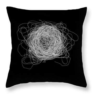 Tangled And Twisted Throw Pillow