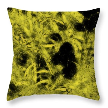 Tangled Branches Throw Pillow
