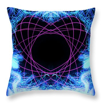 Tangled Heart Throw Pillow