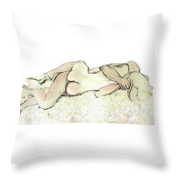 Tangled Together Throw Pillow