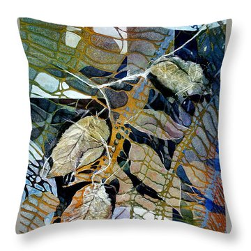 Tangled Treasure Throw Pillow