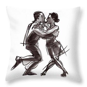 Tango #22 Throw Pillow