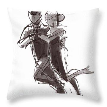 Tango #24 Throw Pillow