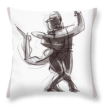 Tango #25 Throw Pillow