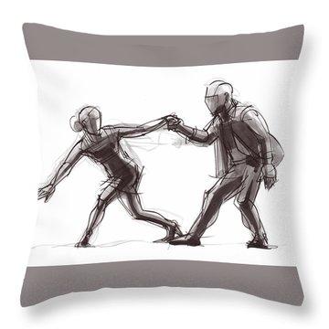 Tango #63 Throw Pillow
