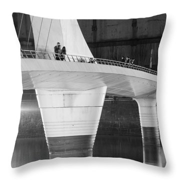 Tango Bridge Throw Pillow