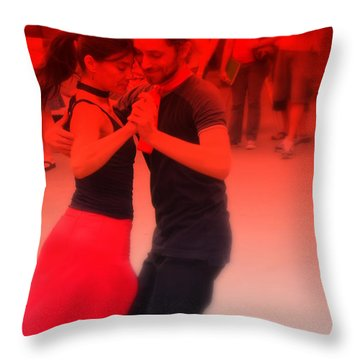 Tango Catalan Throw Pillow
