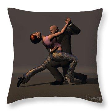 Tango Couple 1 Throw Pillow