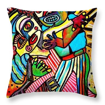 Tango Dance Of Love Throw Pillow