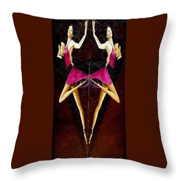 Tango Dancers #2 Throw Pillow