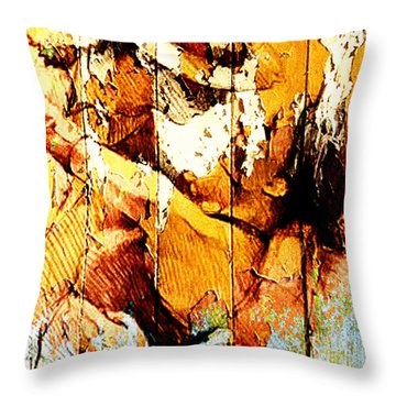 Tango Dancers Throw Pillow