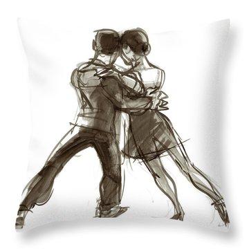 Tango Triangle Throw Pillow