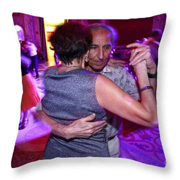 Tango In Buenos Aires Throw Pillow by Bernardo Galmarini