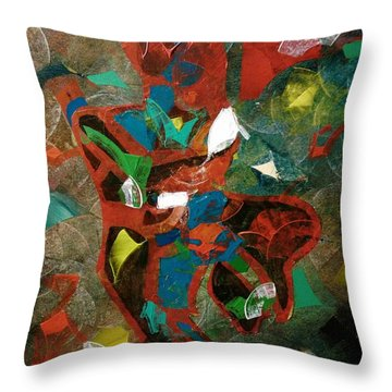 Tango With A Twist Throw Pillow
