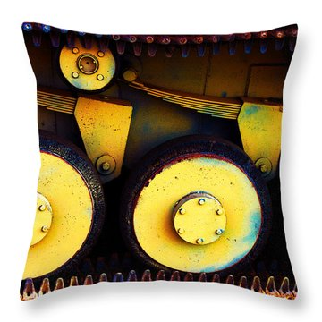 Tank Detail Throw Pillow