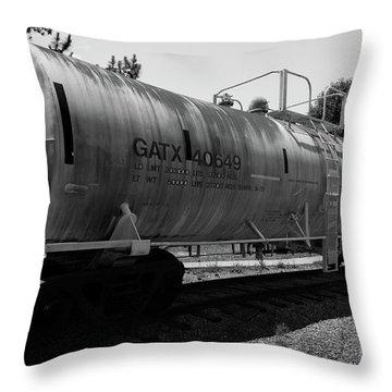 Tanker Throw Pillow