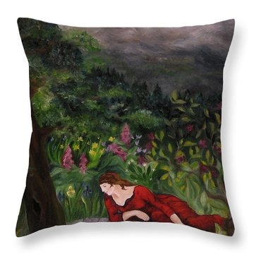 Tansel Of Loralin Throw Pillow