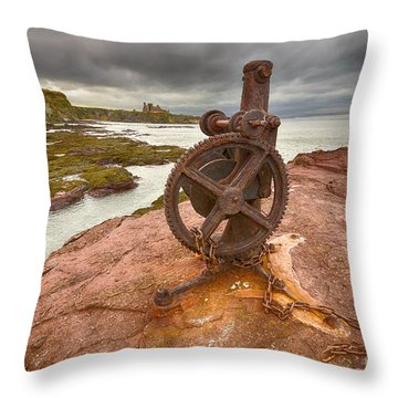 Tantallon Castle Views Throw Pillow