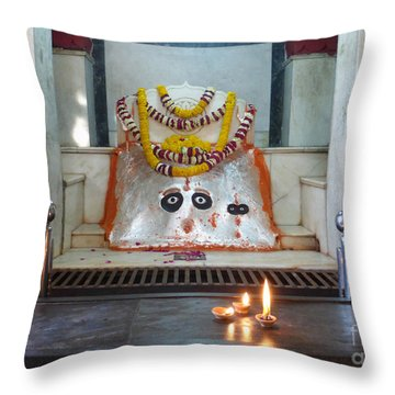 Throw Pillow featuring the photograph Tantric by Jean luc Comperat