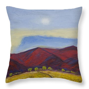 Taos Dream Throw Pillow by John Hansen