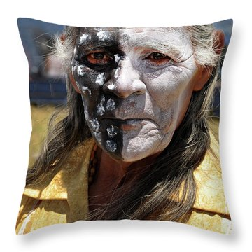 Taos Elder Throw Pillow