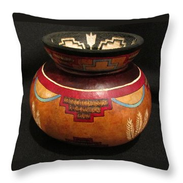Taos In And Out #go53 Throw Pillow